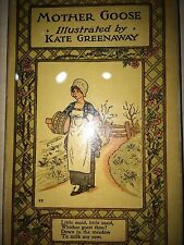 MOTHER GOOSE OR THE OLD NURSERY RHYMES ILLUS. BY KATE GREENAWAY *WITH DJ*