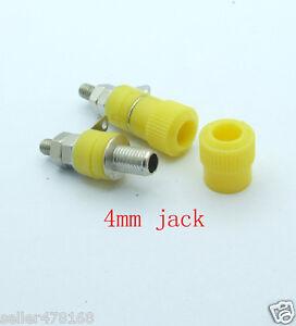20PCS Red Binding Post 4mm JACK for Speaker Banana Plug Test probe Conversion