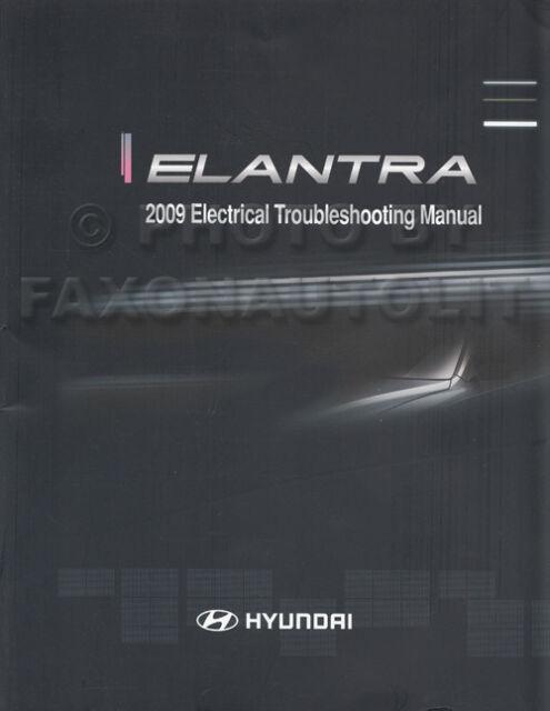 2009 Hyundai Elantra Sedan Electrical Troubleshooting