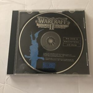 WarCraft II 2 Tides of Darkness (PC, 1996) No Front Case Art - Game Only