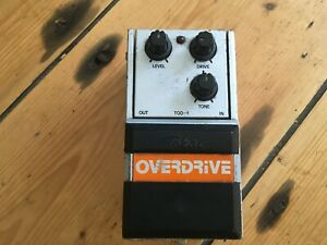 Tokai-TOD-1-Overdrive-Guitar-Effects-Pedal-Japan-1980s