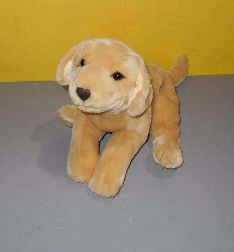 "12/"" Yellow Labrador Retriever Puppy Dog Bean Plush Animal by Kids Preferred"