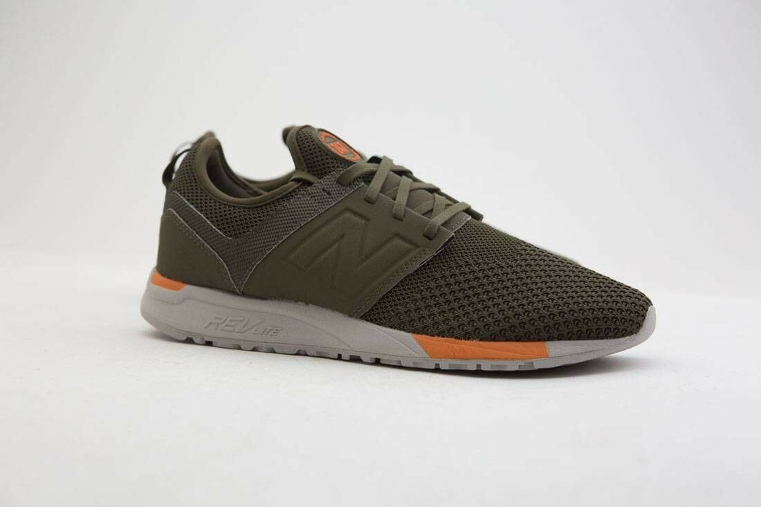 MRL247KO New Balance Men 247 Sport MRL247KO olive orange
