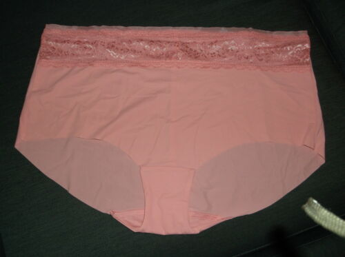 M/&S /'Smoothlines/' No VPL Low Rise Shorts Style Briefs 16 18 24 Rose BNWoT