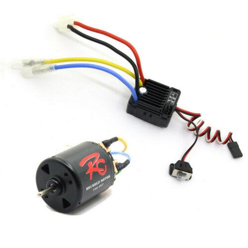 Bürstenmotor der elektrischen Raupe 540 für 1//10 D90 D110 TRX4 SCX1 RC-Fahrzeuge