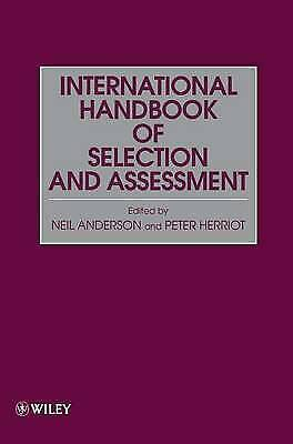 International Hdbk of Selection   Assess (Assessment & Selection in Organization