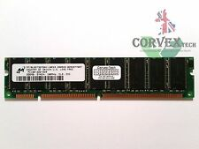 256MB Micron MT18LSDT3272AY-10EG3 SDR SDRAM 100MHz PC100 ECC Unbuffered