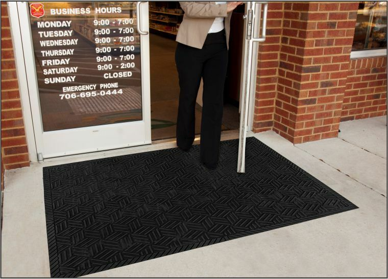 Superscrape Plus Outdoor Heavy Duty Rubber scarpe Scraping Mat