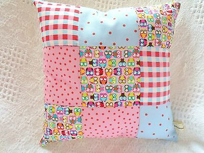 Fox Patchwork Cushion Craft Kit Ditsy Fabrics Sewing Craft Kit New GREAT GIFT!