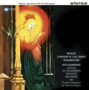 MAHLER-Symphony-No-2-Resurrection-CD-NEW-Otto-Klemperer-Philharmonia-Orchestra