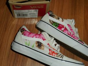 5dab269c5d Details about men youth boy girl 3.5 women 5 ~ old skool Vans shoes  tropical Hawaiian floral