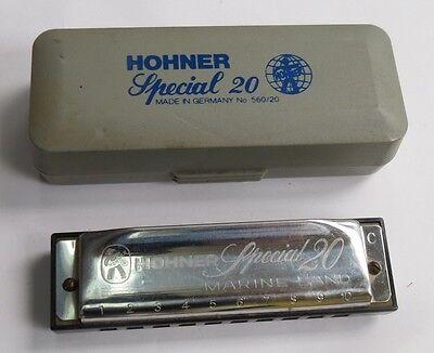 hohner special 20 marine band harmonica no 560 20 ebay. Black Bedroom Furniture Sets. Home Design Ideas