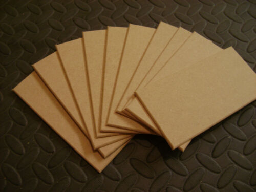 30 X TOP QUALITY  MIDITE PERMIER MDF WOODEN PLAQUES PLAIN SIGNS BLANKS 3mm MDF