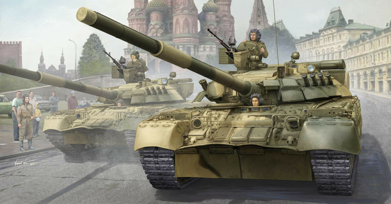 Trumpeter 1 35 Russian T-80UD MBT