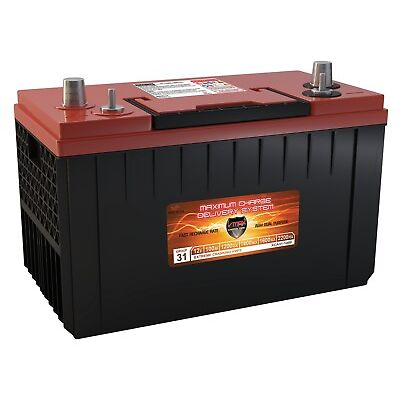 VMAX XCA31-1400 AGM 1200CCA group 31 STARTING DP CYCLE CATERPILLAR 12V battery