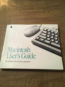 macintosh user s guide 1993 ebay rh ebay com macbook user guide os x user guide
