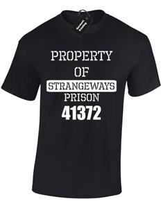 PROPERTY-OF-STRANGEWAYS-MENS-T-SHIRT-FUNNY-MANCHESTER-FANCY-DRESS-PRISON-JAIL