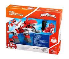 Mega Construx Power Rangers - T-Rex Zord and Red Ranger