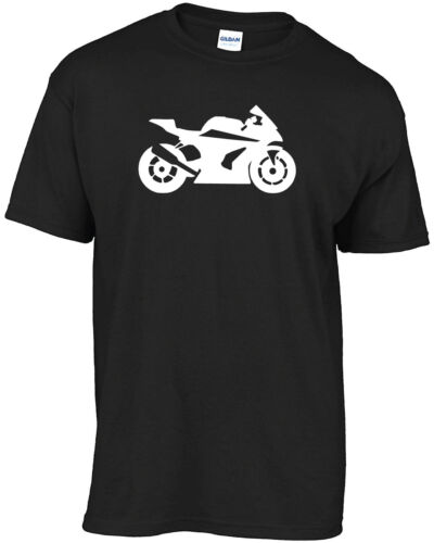 Motorcycle Motorbikes Superbike silhouette tee