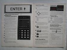 5/1974 PUB HP HEWLETT PACKARD HP-45 HP-35 SCIENTIFIC CALCULATOR CALCULATRICE AD