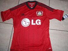 Adidas neu Trikot 1904 Bayer Leverkusen H Größe 140 rot  Wunschflock möglich