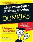 EBay PowerSeller Business Practices for Dummies by Marsha Collier (2008, Paperback)