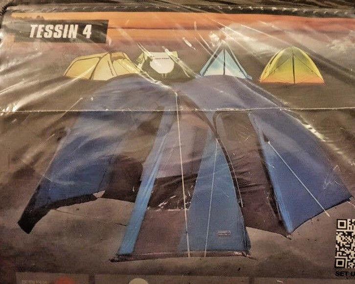 High Peak 10092 Zelt Tessin 4 365 x x x 250 x 175 cm 2 Eingänge 3000 mm - NEU & OVP  | Zu verkaufen  dd1d1e