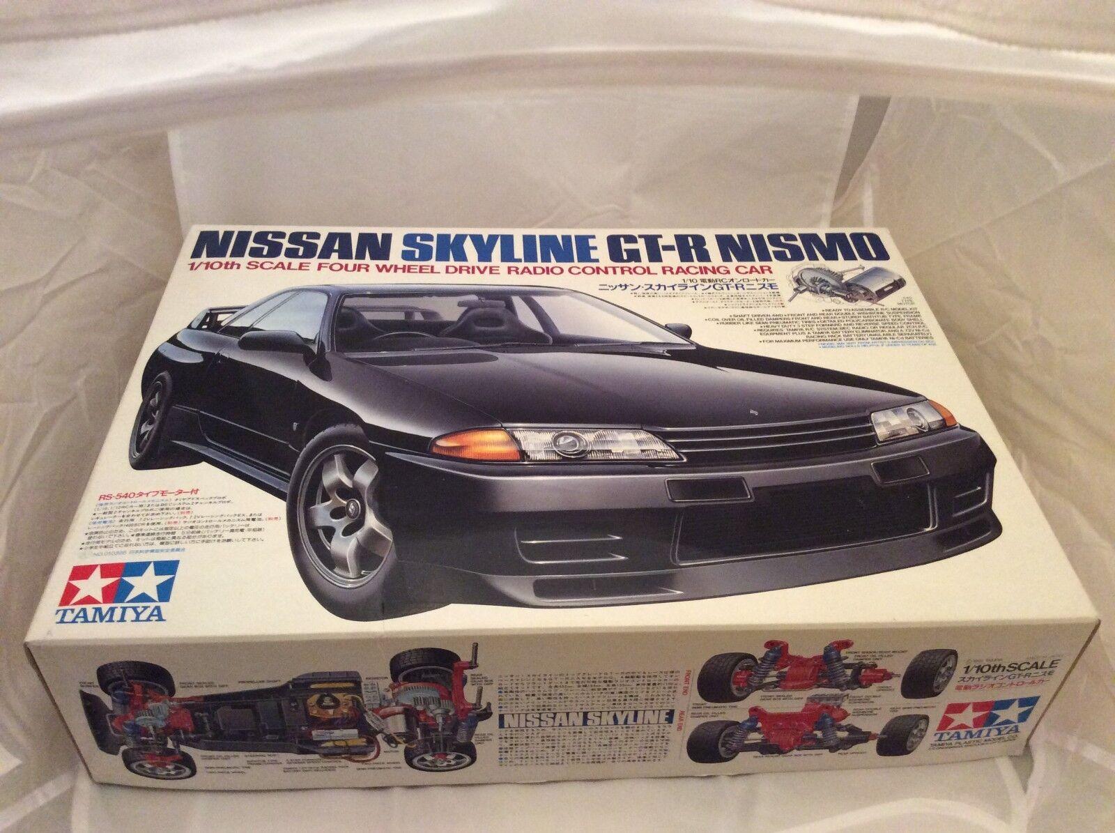 Tamiya Nissan Skyline GT-R NISMO 58099 Nuovo con Scatola 1991 RARA TA01 Nuovo in Scatola TA02
