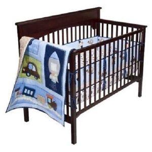 Image Is Loading 3 Pc Circo Transportation Baby Nursery Crib Bedding