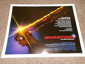BRAINSTORM-LOT-3-1983-NATALIE-WOOD-1-2-SHEET-POSTER-ROLLED