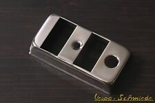 VESPA Abdeckung Lichtschalter / Standlicht - EDELSTAHL - PK PX T5 XL Lusso Chrom