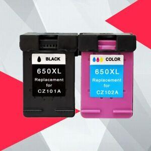 Cartouche-D-039-encre-Compatible-650XL-Remplacement-pour-HP-650-XL-pour-HP650