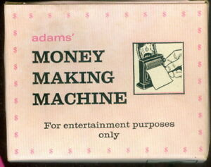 Vintage-Adams-Money-Making-Machine-New-In-Box-Never-Removed-Complete
