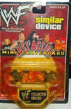 "1999 WWF Fast Action Mini-Skateboard Similar Device New Sealed ""The Rock"""