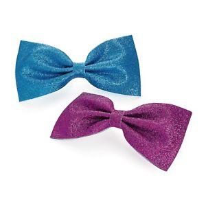 Oversized Coloured Ribbon Style Bow Motif Hair Beak Clip Slide Grip Accessories