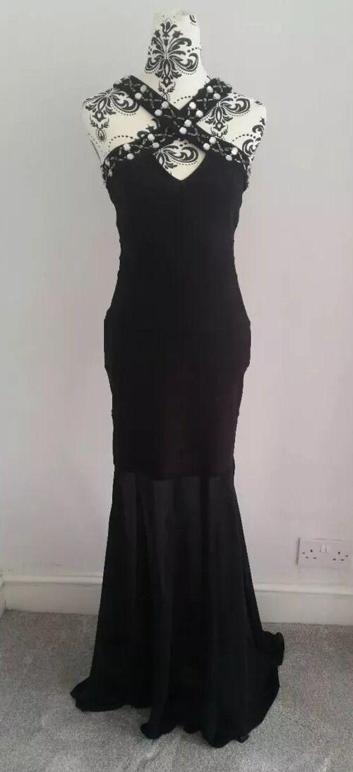 W Once Long Maxi Stunning Slimming Ladies Lipsy Evening Dress