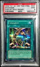 Yu-Gi-Oh! PSA Graded Exchange EDS-001 Limited Edition from GBA Game