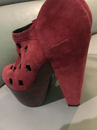 Boots Suede Dorote Robert Vegas Rare Clergerie Uk Platform 5 5 Cutout YxAqfa6wyA