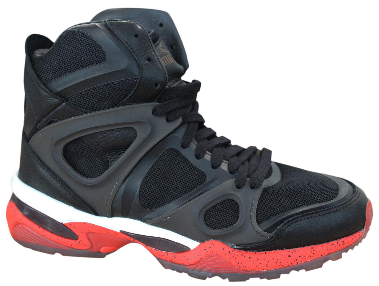 Puma Alexander McQueen AMQ Run Media Zapatillas Para Hombre Textil Negro 357157 01 D95