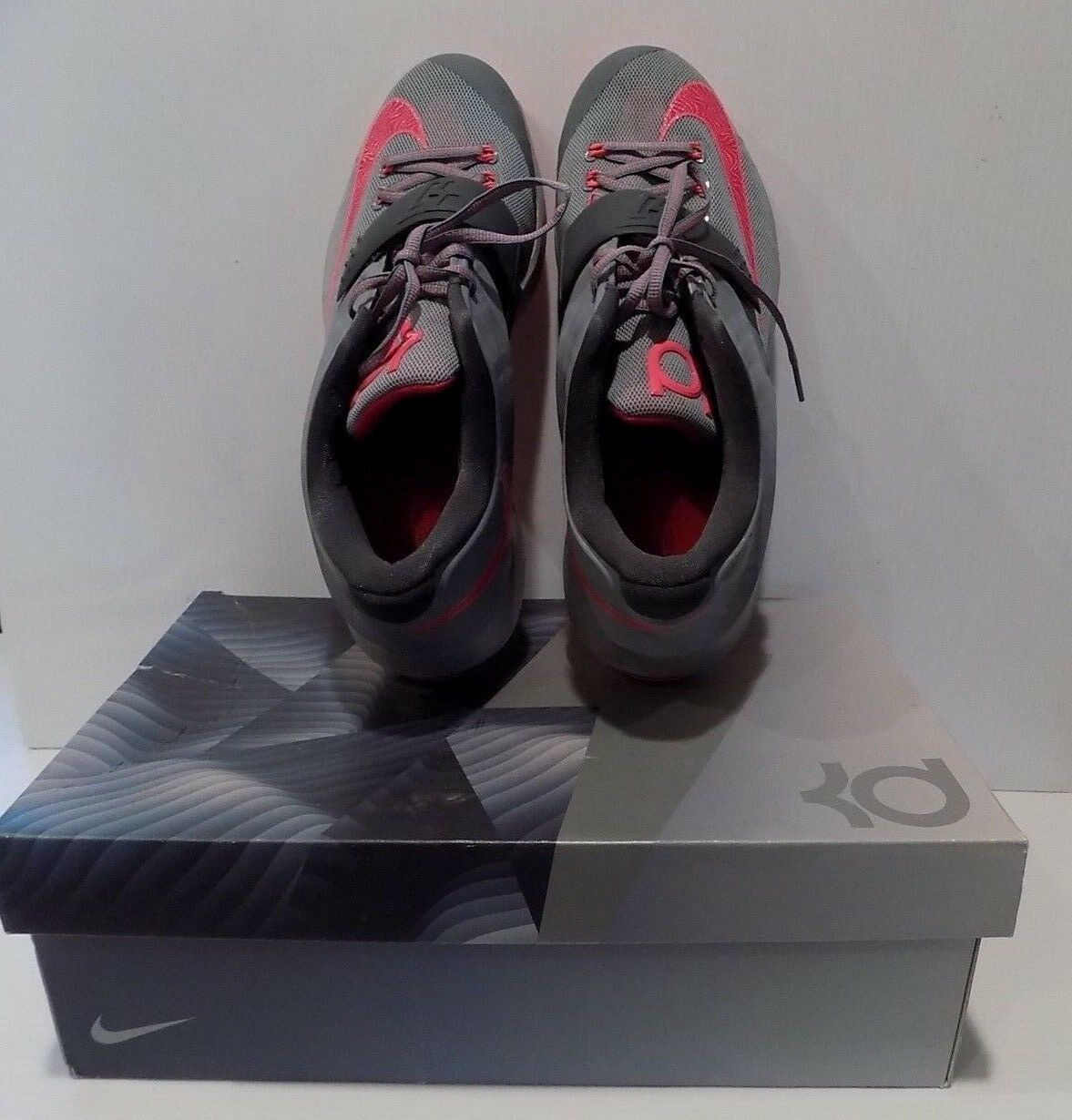 Men's Nike Zoom 653996-060 KD VII 7 Calm Before The Storm Basketball Shoes 12