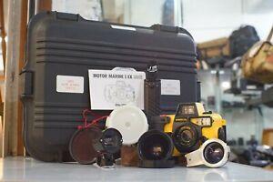 Sun-amp-Sea-Motor-Marine-II-EX-Underwater-Camera-Kit-Cased-amp-Instructions