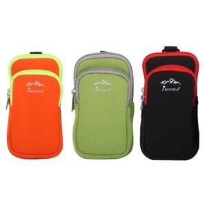 Neoprene phone Intercom GPS protector Hook Loop Belt bag backpack pouch Case