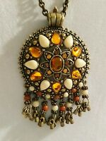 Joan Rivers Classic Pendant With Hanging Beads