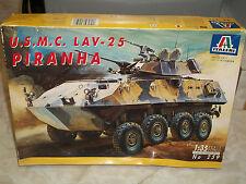 Italeri 1/35 Scale U.S.M.C. LAV-25 Piranha