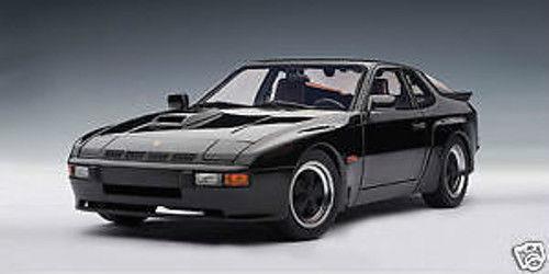 1/18 Autoart 1980 Porsche 924 Carrera Gt Black Cult