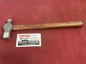 NOS-Craftsman-8-oz-Ball-Pein-Hammer-Wood-Handle-38463-Made-In-USA