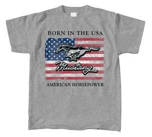 Ford-Mustang-Born-in-the-USA-American-Horsepower-T-shirt-great-gift