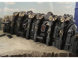 Details about MASSIVE Gothic Spaceship Wreck Hull Walls Warhammer 40k  Terrain Scenery Tabletop