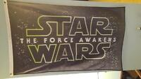 Star Wars Wall Flag 3x5 America Usa Heavy Knit 110 Polyester Made Limited