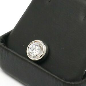 1Ct-Solitaire-Round-Diamond-Pendant-Charm-Enhancer-SOLID-14k-White-Gold-Jewelry